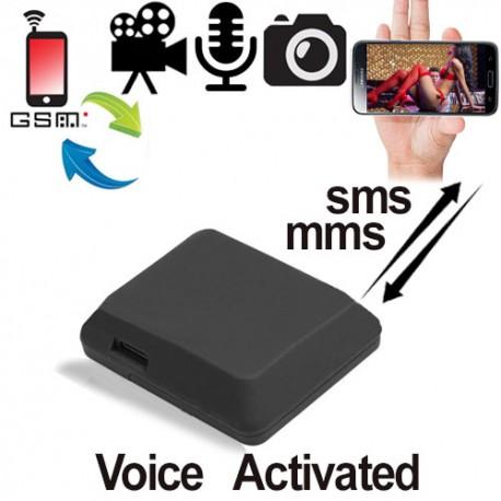 GSMSPY-VISION GSM-Abhörgerät. Erzeugt Live-Fotos und sendet diese als MMS an Ihr Handy.