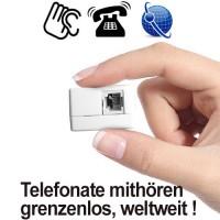 Festnetz-Abhörgerät über GSM-Funk